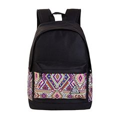 Gahey Girls Stylish High School Back Packs Bookbag College Backpack Purple ** Check this awesome product by going to the link at the image. Back To School Sales, Back To School Supplies, Back To School Essentials, Fashion Backpack, High School, College, Backpacks, Purple, Stylish
