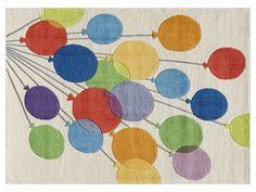 Whimsical Balloons Rug