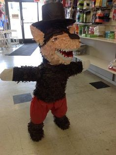 Big Bad Wolf piñata.