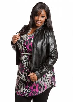 Womens Plus Size Coats and Jackets