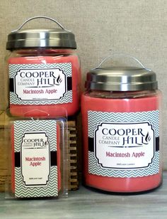 OUTSTANDING summer scent!  Bring the orchard inside! 100% Soy Candles!