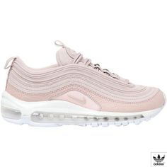 ae9e0937bb848 Nike Women Air Max 97 Premium Sneakers (£190) ❤ liked on Polyvore featuring