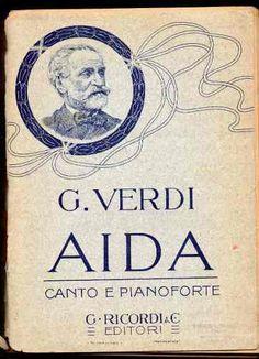.opera - Partitura Para Piano Completa: Aida, De Verdi - $ 200.00