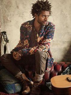 Bohemian Style Men, Boho Chic, Hippie Style, Bohemian Gypsy, Bohemian Fashion, Hippie Chic, Indie Fashion, Trendy Fashion, Mens Fashion