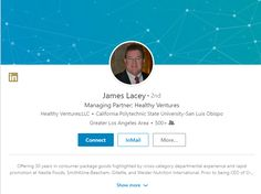 Connect with James Lacey from Westlake Village, CA on