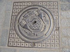 Designs underfoot - manhole covers are things of beauty, #industrial #design    via @DaveThornhill27