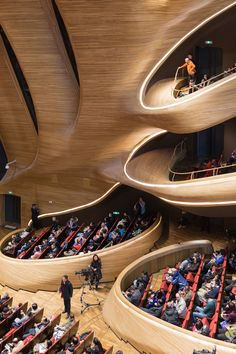 iwan baan documents MAD's harbin opera house in china