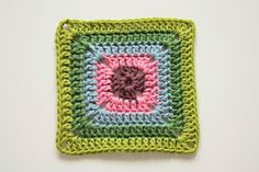 Crochet Corner: Solid Granny Square