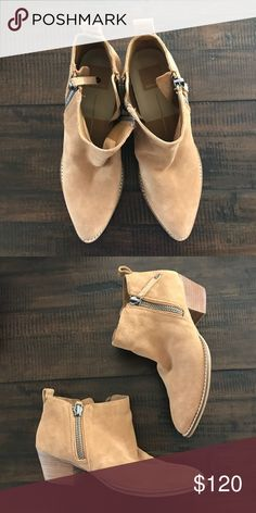 Dolce Vita Saira Zipper Ankle Boot Booties 8 7feb216d50ac