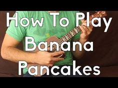 Banana Pancakes - Jack Johnson - Ukulele Tutorial - How To Play Begginer Songs Cool Ukulele, Ukulele Tabs, Ukulele Chords, Jack Johnson Banana Pancakes, Ukulele Tuning, Ukulele Songs, Youtube, Music Lessons, Playing Guitar