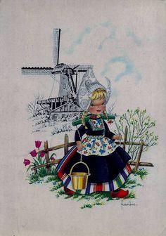 Moulin à vent porcelaine modèle 13 cm HOLLAND PAYS-BAS Windmill souvenir