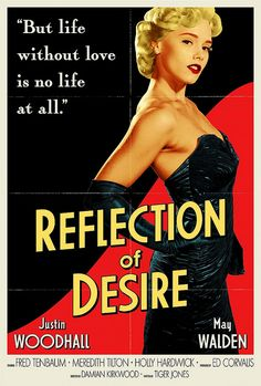 old hollywood movie posters | criminal minds # poster # old movie # reflection of desire