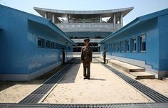 DMZ (de-militarized zone) between South and North Korea~ ONE of the most historic and fascinating places I've ever been