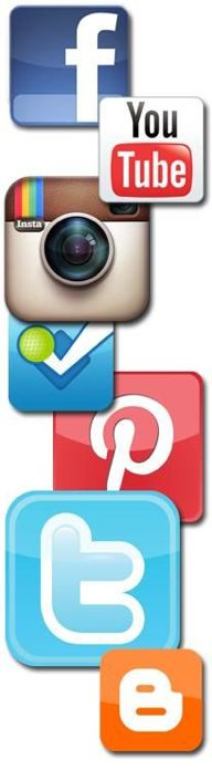 Facebook, Twitter, Instagram, YouTube, Foursquare, Pinterest, Blogger Google+ http://buysocialfans.com/ #socialmedia #socialfans #buysocialfans #facebooklikes #twitterfollowers #YouTube #Google+