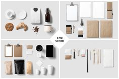 Coffee Stationery / Branding Mock-Up by forgraphic™ on @creativemarket