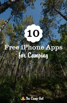 10 free iPhone apps for camping!