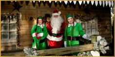 Join in the fun at Tulleys Farm.  Visit Santa in his cabin in the woods. Enjoy exciting twilight sleigh rides to the woods at weekends.  Visit the website to book your visit - numbers are limited!  www.tulleysfarm.co.uk
