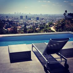 View Of The Day From The Outpost Estates Section Of The Hollywood Hills.  View (