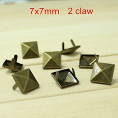 Find More Garment Rivets Information about Free Shipping   1000 pcs Antique Bronze 7*7mm Square Pyramid Studs Rivet Spike Belt Bag Leathercraft Shoes Bracelet DIY Rivet,High Quality rivet steel,China bag care Suppliers, Cheap rivet glasses from Fashionista Style on Aliexpress.com
