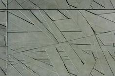 CONCRETE artistic wall