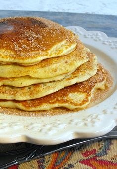 Snickerdoodle Pancakes: a cinnamon lovers dream