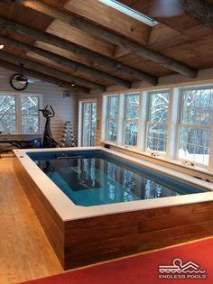 a farmhouse Endless Pool® | by Endless Pools
