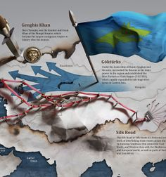 Infographics for corporate monthly bulletin by Anton Egorov, via Behance