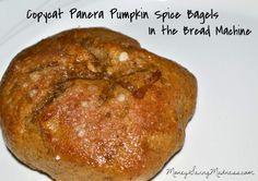 Copycat Panera Bread Pumpkin Spice Bagel Recipe on http://www.moneysavingmadness.com