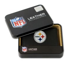 2499424523/249942452304/_A_ A perfect gift for yourself or your favorite sports fan! The team's logo is embroidered onto the front of the wallet. The wallet is made of genuine leather and will last fo