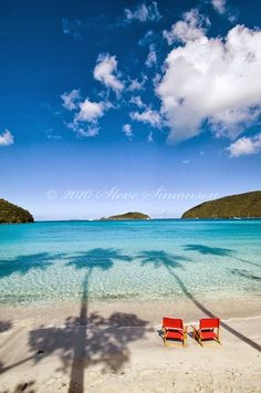Maho Bay, St John Virgin Islands National Park ~ perfect relaxation spot after a day of snorkling Oh The Places You'll Go, Places To Travel, Places To Visit, Dream Vacations, Vacation Spots, Romantic Vacations, Italy Vacation, Romantic Travel, Virgin Islands National Park