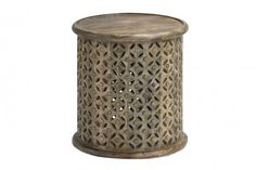 Wedding Lounge Furniture Hire - Wooden Side Tables