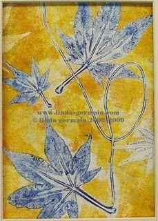 gelatin prints botanical - Google Search