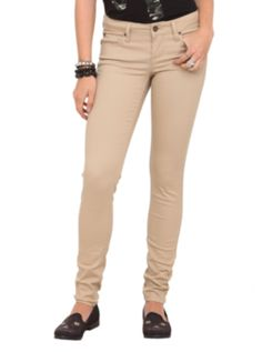 outfit #8 LOVEsick Khaki Twill Skinny Pants $34.50