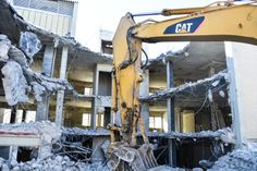 Demolition at 282 St Clair Avenue West -- the home of The Code Condos