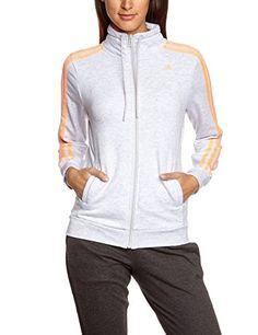 Günstig: adidas Damen Trainingsjacke Essentials 3S Tracktop