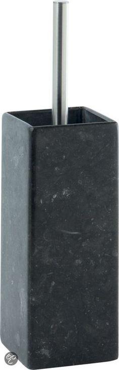 Aquanova Hammam - Toiletborstelhouder - Antraciet