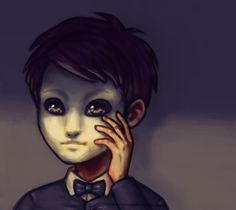 "My Face . . . by Rbananas.deviantart.com on @deviantART - Erik from ""The Phantom of the Opera"" as a child."