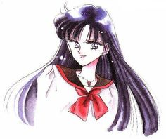 Rei Hino, Shrine Maiden, Sailor Mars