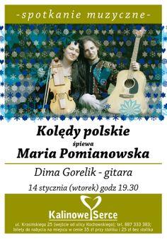 #MariaPomianowska i #DimaGorelik Kolędy polskie w #KalinoweSerce