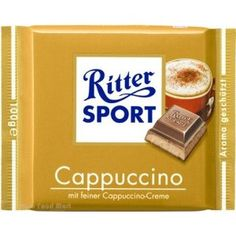 DONE (a long time ago): Ritter Sport Cappuccino