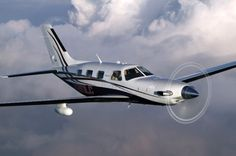 Piper Meridian...a true cabin class single...I want this airplane!!