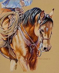 Original Western Paintings from Marti Miller Hubbell