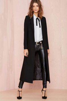 Nasty Gal Great Lengths Jacket | Shop What's New at Nasty Gal