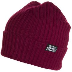 Converse CHILLED BEANIE Hat oxheart (€20) ❤ liked on Polyvore featuring accessories, hats, beanies, head, red, pattern hats, red hat, print hats, beanie cap hat and beanie cap