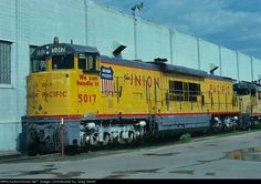 Union Pacific GE U50C Diesel Locomotive.