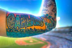 Oakland tattoo.