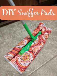 Make your own DIY Swiffer Pads - ConsumerQueen.com- Oklahoma's Coupon Queen