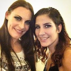 Floor Jansen And Charlotte Wessels