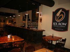 Six Row Brewing Company offers exciting new styles of Ales and Lagers including seasonal selections