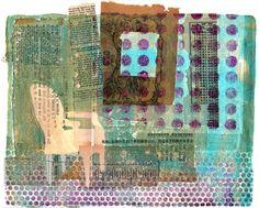 Printing with Gelli Arts®: Something Borrowed